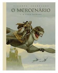 O Mercenário Vol.1, de Segrelles (Ed.Portuguesa em Capa Dura)