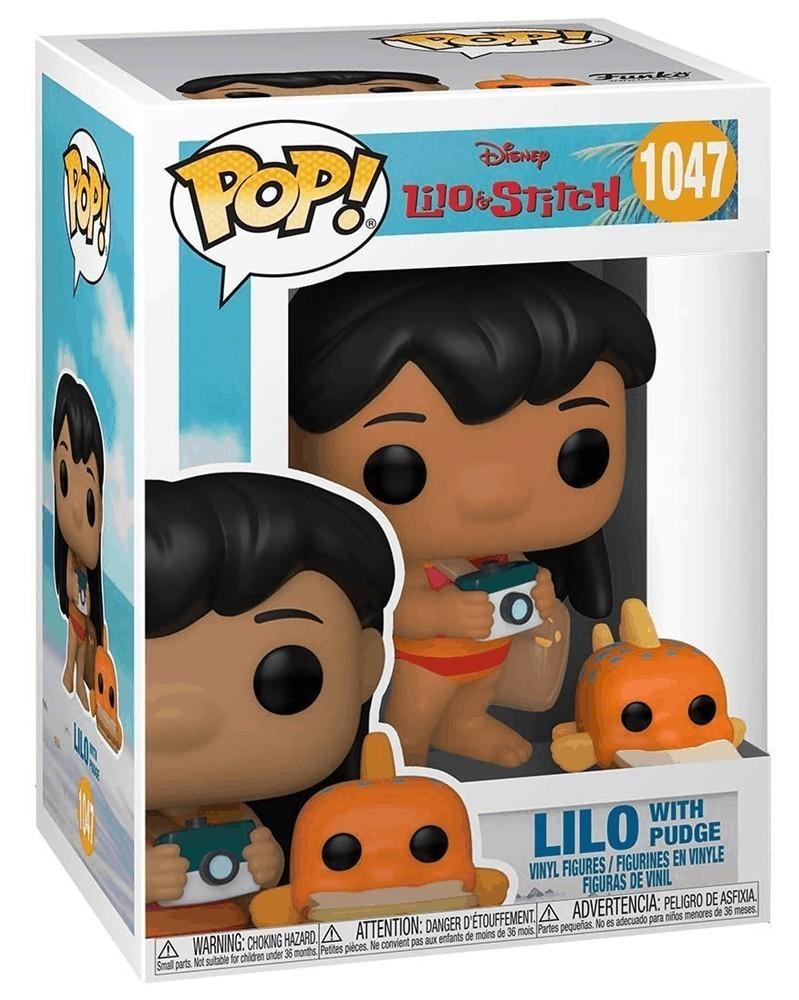 Funko POP Disney - Lilo & Stitch - Lilo with Pudge c