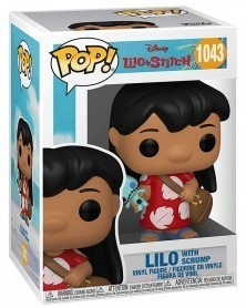 Funko POP Disney - Lilo & Stitch - Lilo with Scrump c