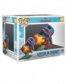 Funko POP Rides - Disney - Lilo & Stitch - Stitch in Rocket c