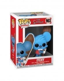 Funko POP TV - The Simpsons - Itchy caixa
