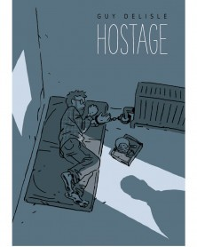 Hostage HC, de Guy Delisle capa