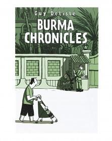 Burma Chronicles HC, de Guy Delisle