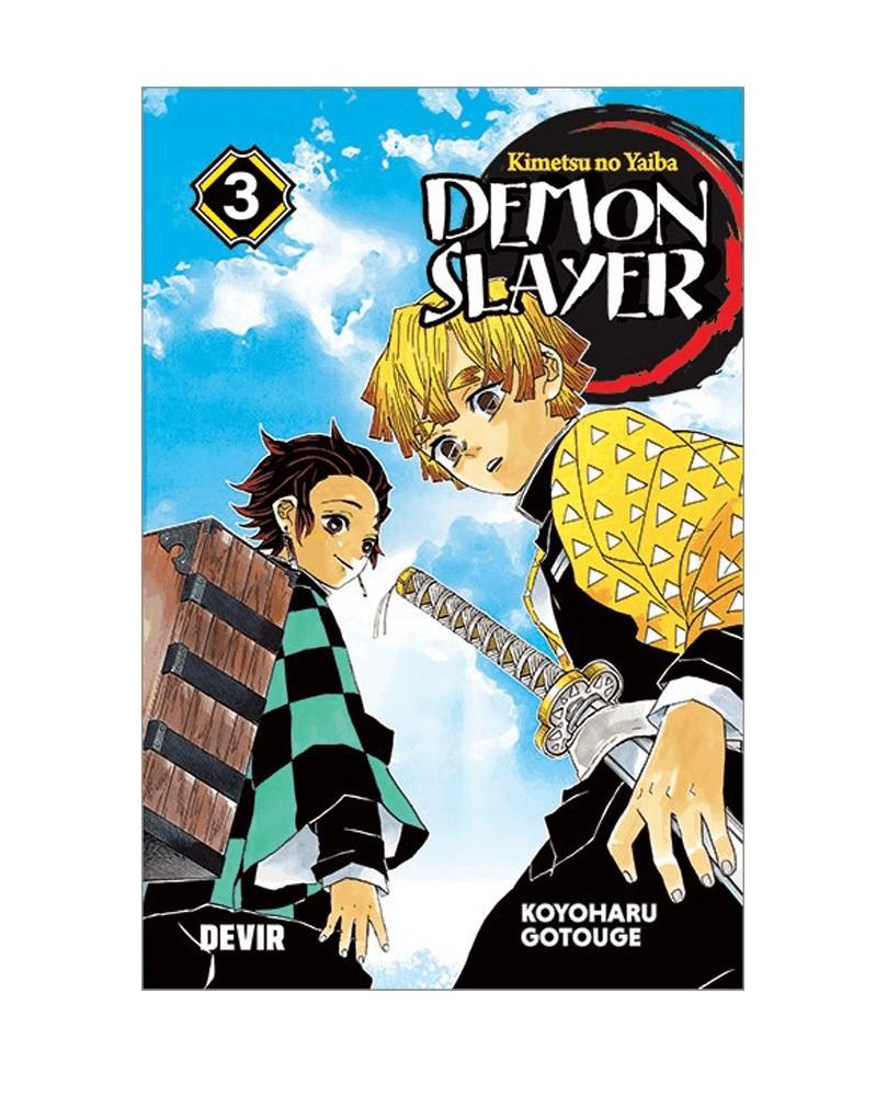 PREORDER! Demon Slayer - Kimetsu No Yaiba vol.3 (Ed. Portuguesa)