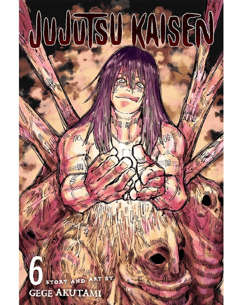 Jujutsu Kaisen Vol.6 (Viz Media)