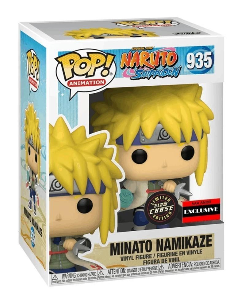 POP Anime - Naruto - Minato Namikaze (Rasengan CHASE!, AAA Exclusive) caixa