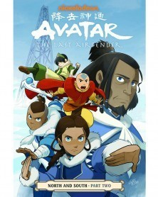 Avatar The Last Airbender: North & South Part 2