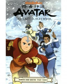 Avatar The Last Airbender: North & South Part 3