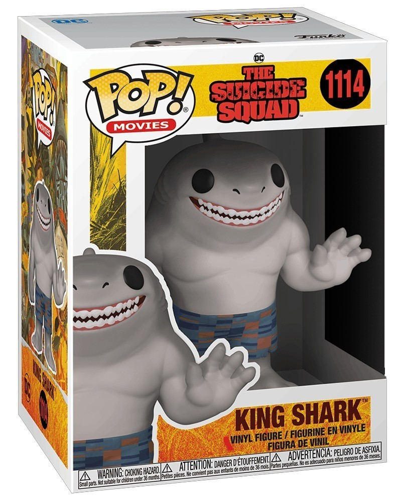 Funko POP Movies - The Suicide Squad - King Shark