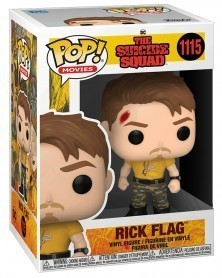 Funko POP Movies - The Suicide Squad - Rick Flag