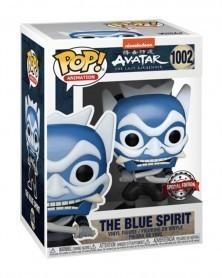 Funko POP Animation - Avatar The Last Airbender - The Blue Spirit caixa