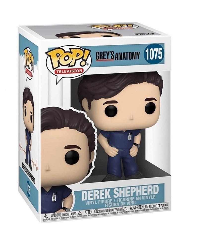 Funko POP TV - Grey's Anatomy - Derek Sheperd caixa