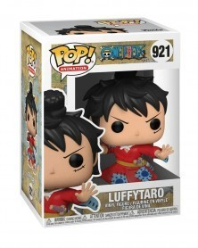 Funko POP Anime - One Piece - Luffytaro (in Kimono) caixa