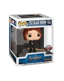 Funko POP Marvel - Avengers Assemble - Black Widow (Deluxe) caixa