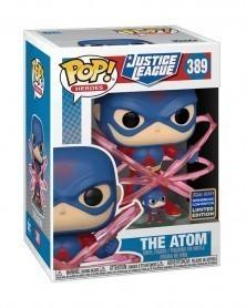 Funko POP DC Heroes - The Atom (Convention Exclusive) caixa