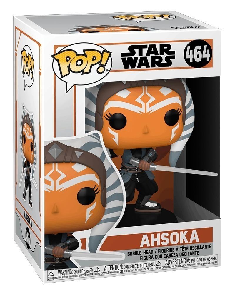Funko POP Star Wars - Ahsoka (with Sabers, 464) caixa