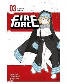 Fire Force Vol.3 (Ed. em Inglês)