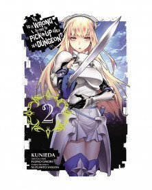 Is It Wrong To Pick Up Girls in A Dungeon? Vol.2 (Ed. em inglês)