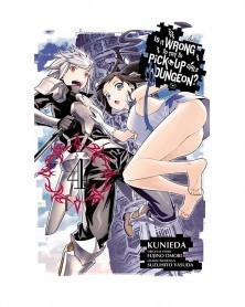 Is It Wrong To Pick Up Girls in A Dungeon? Vol.4 (Ed. em inglês)