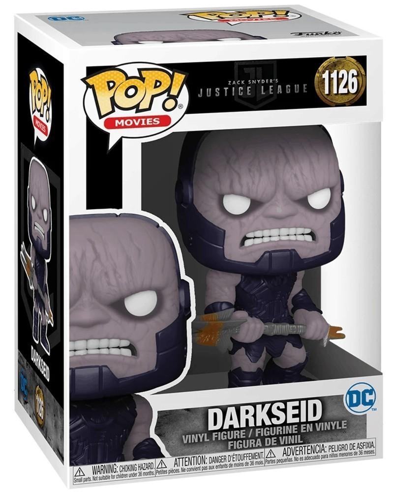 Funko POP DC Movies - Zack Snyder's Justice League - Darkseid caixa
