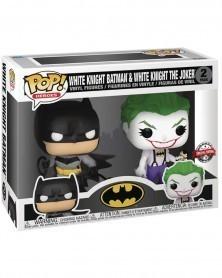 Funko POP Heroes - White Knight Batman & Joker (Special Edition) caixa