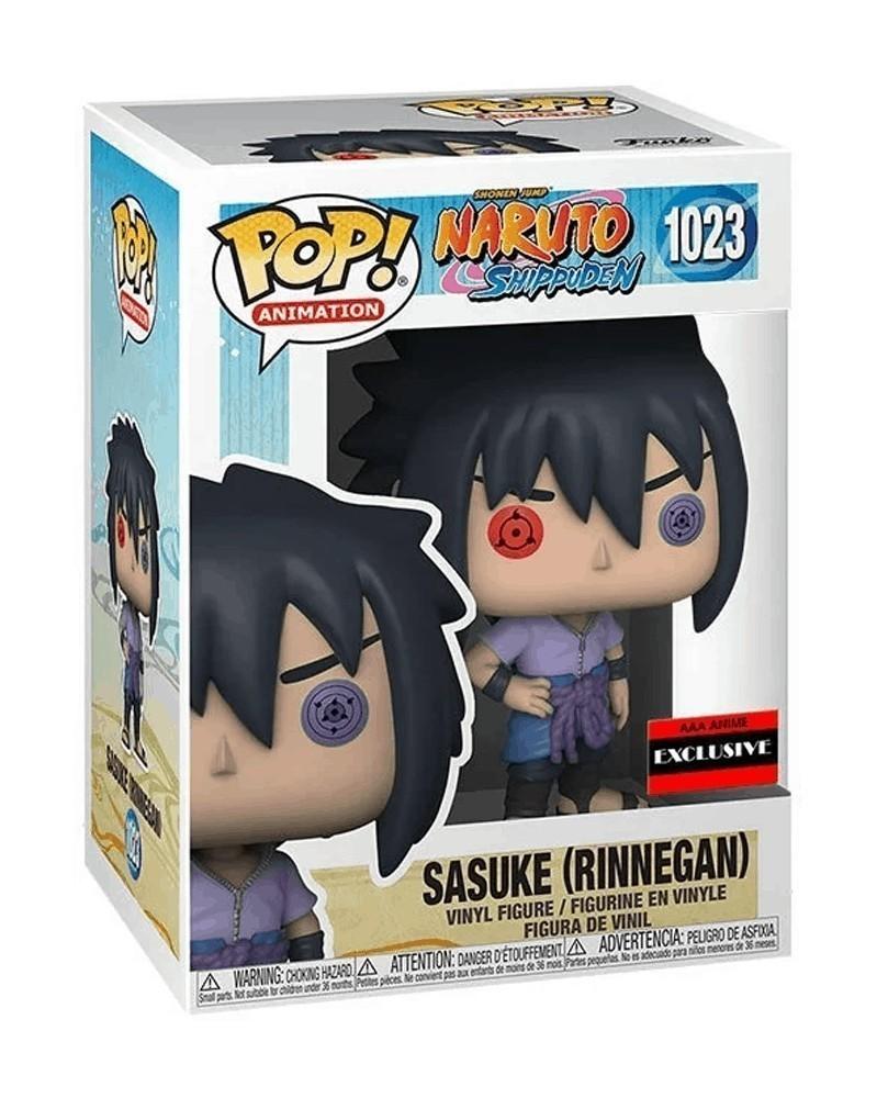Funko POP Anime - Naruto - Sasuke (Rinnegan, AAA Exclusive) caixa