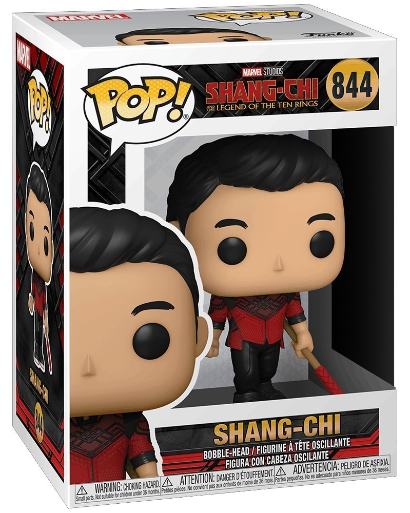 Funko POP Marvel - Shang-Chi & The Legend of The Ten Rings - Shang-Chi (with Staff)