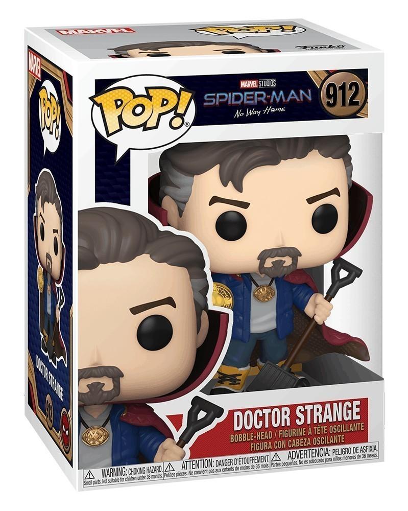 POP Marvel - Spider-Man: No Way Home - Doctor Strange caixa