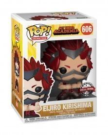 Funko POP Anime - My Hero Academia - Eijiro Kirishima (Metallic) caixa