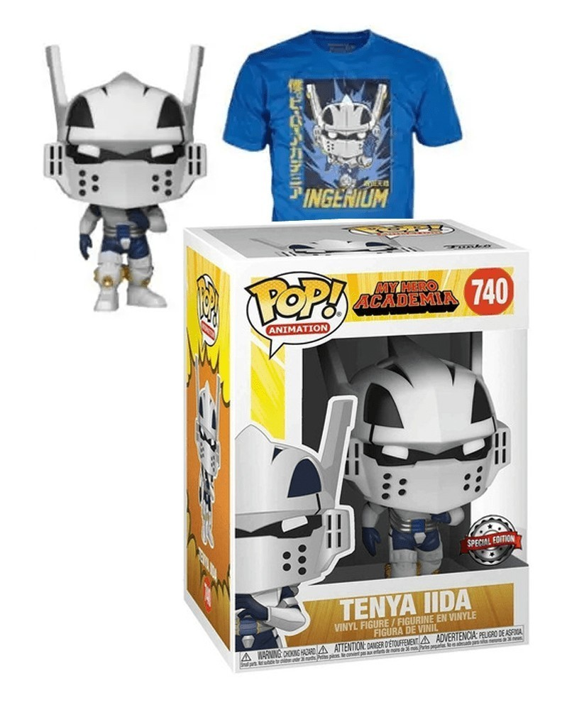 Funko POP Tee - My Hero Academia - Tenya Iida (Full Mech Suit)