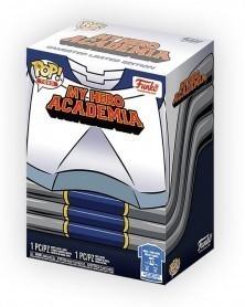 Funko POP Tee - My Hero Academia - Tenya Iida (Full Mech Suit) caixa