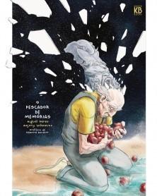 O Pescador de Memórias, de Miguel Peres e Majory Yokomizo (capa dura) capa