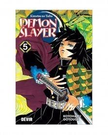PREORDER! Demon Slayer - Kimetsu No Yaiba vol.5 (Ed. Portuguesa)