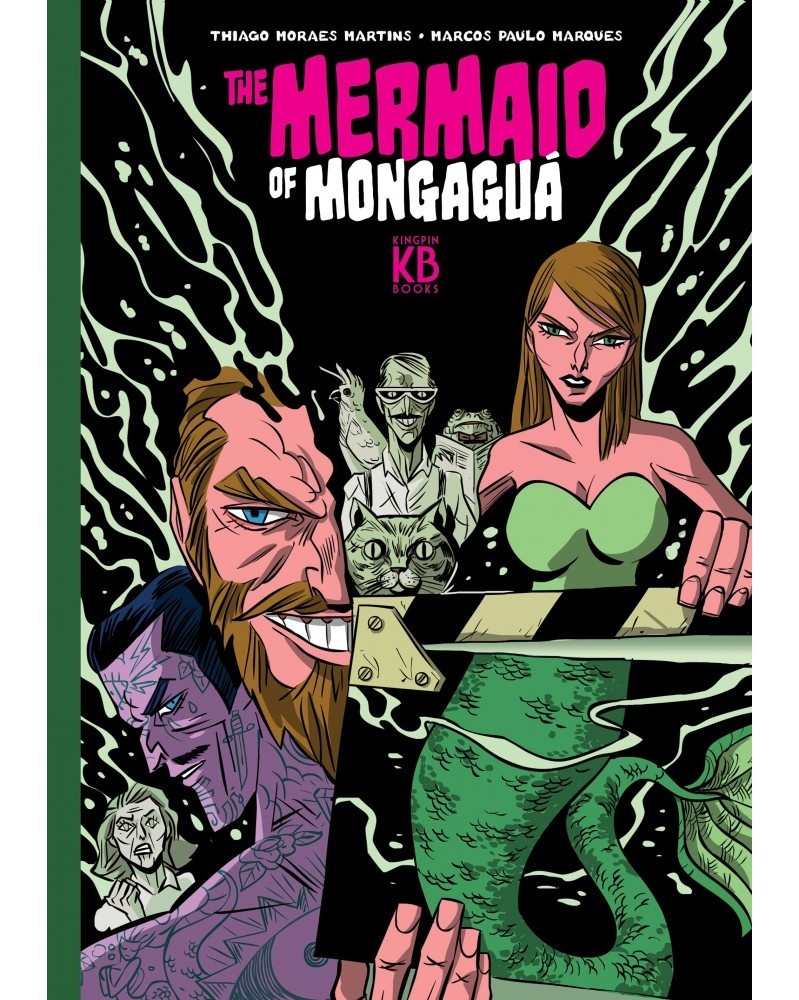 The Mermaid of Mongaguá HC