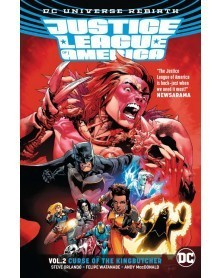 Justice League of America Vol. 2: Curse of the Kingbutcher TP (Rebirth)
