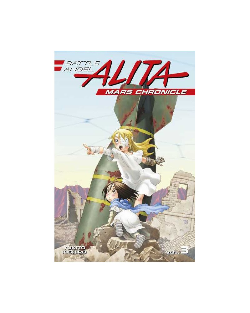Battle Angel Alita: Mars Chronicle vol.03