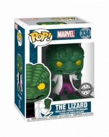 Funko POP Marvel - Spider-Man enemy, the Lizard