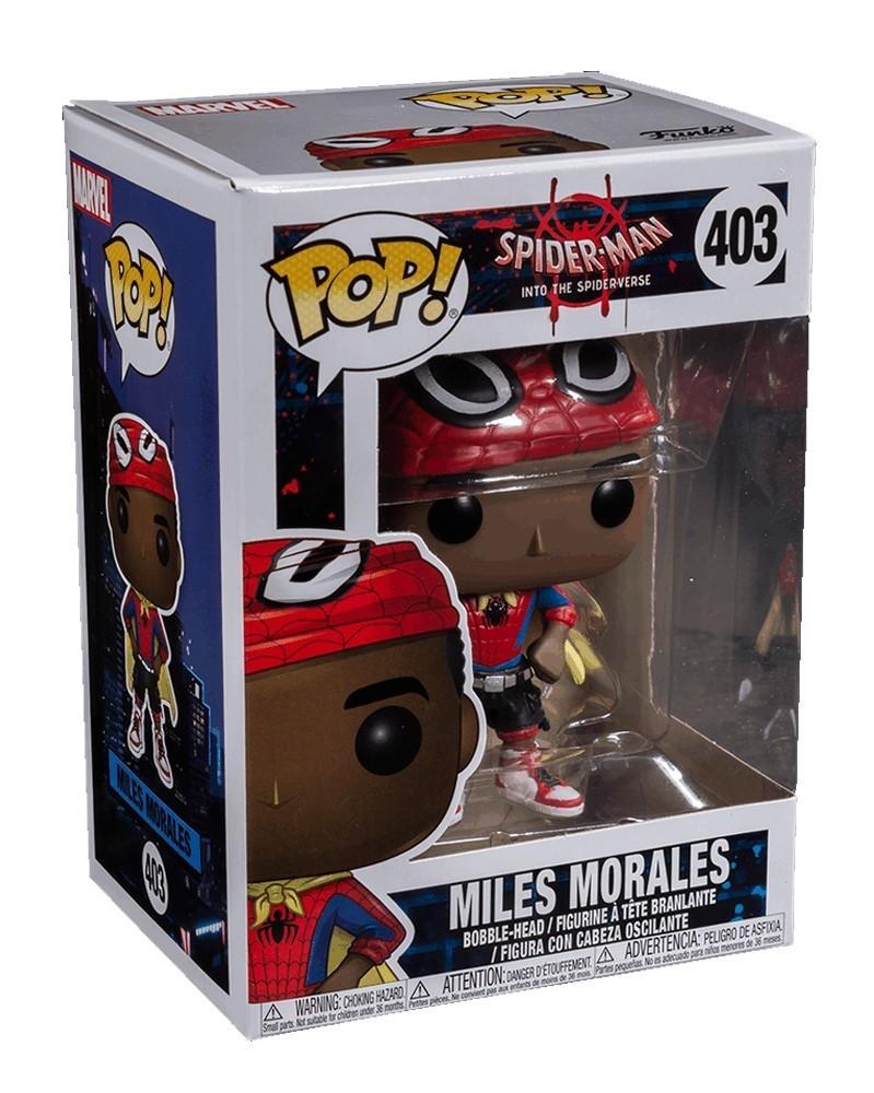 POP Into the Spider-Verse - Miles Morales (Unmasked)