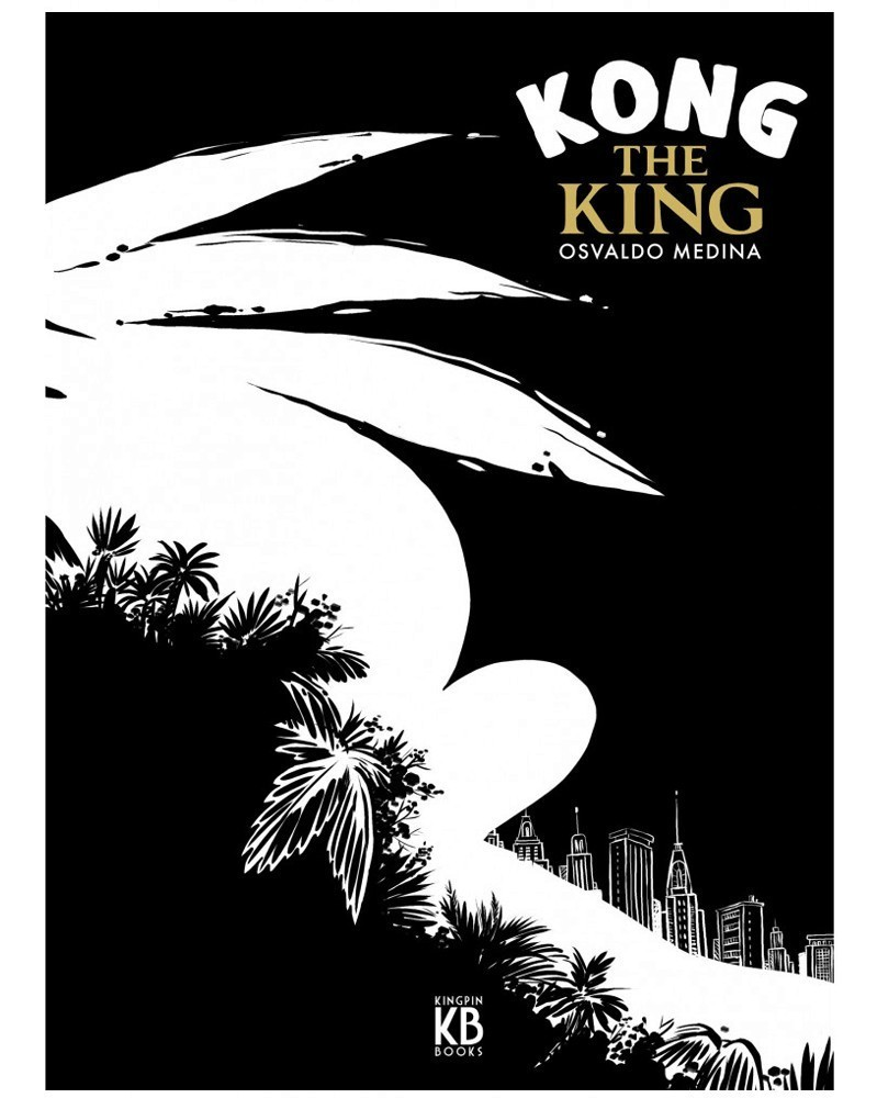 Kong The King, de Osvaldo Medina (capa)
