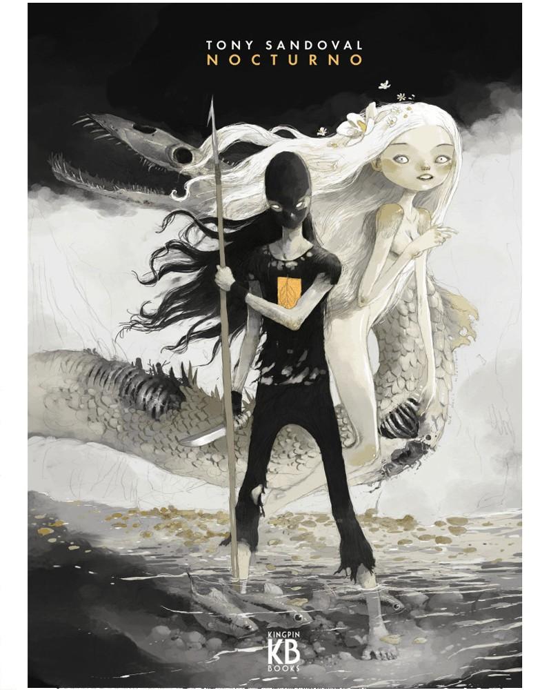 Nocturno, de Tony Sandoval, capa