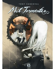Mil Tormentas, de Tony Sandoval, capa