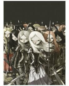 Serpentes de Água, de Tony Sandoval (capa da 1ª edição)