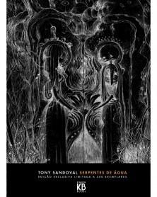 Serpentes de Água, de Tony Sandoval (2ª Edição) capa