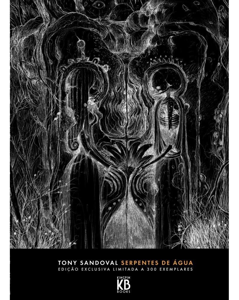 Serpentes de Ãgua, de Tony Sandoval (2ª Edição) capa