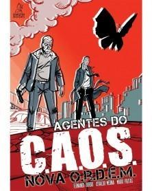 Agentes do C.A.O.S.: Nova O.R.D.E.M. (capa)