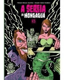 A Sereia de Mongagua, capa