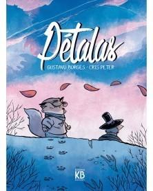 Pétalas, de Gustavo Borges, capa