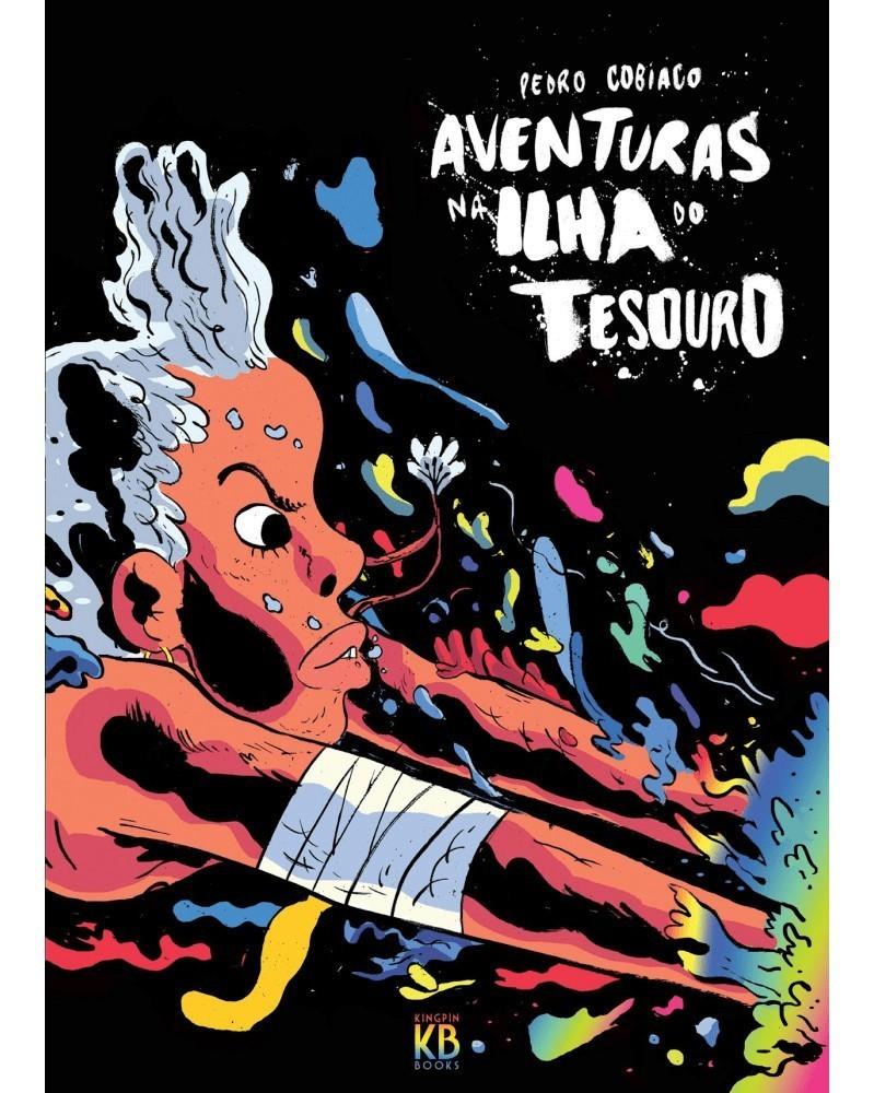 Aventuras na Ilha do Tesouro, de Pedro Cobiaco, capa