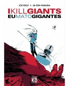 Eu Mato Gigantes (I Kill Giants), capa