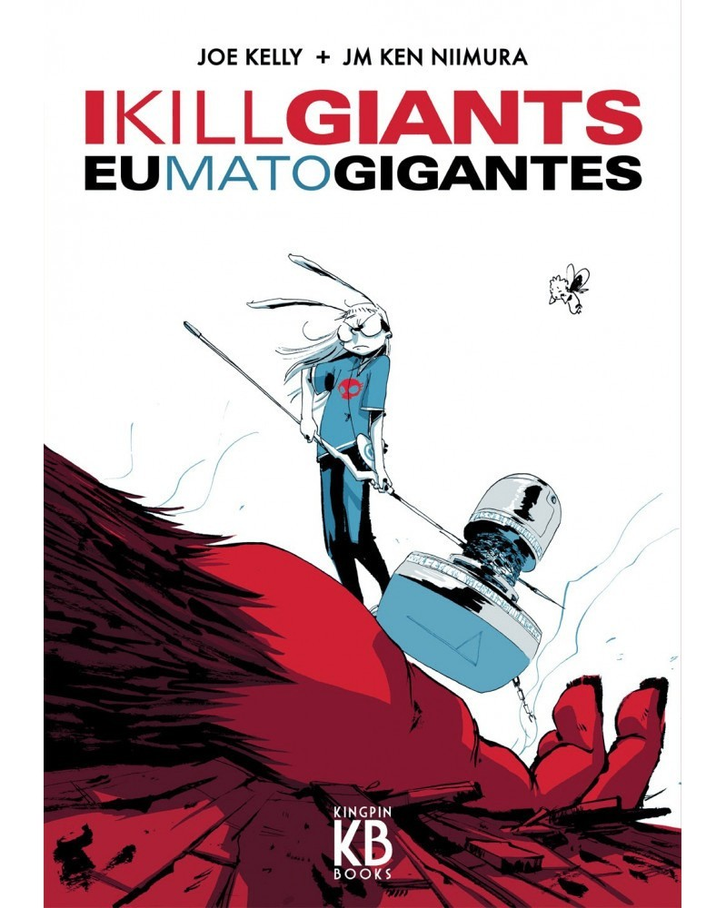 Eu Mato Gigantes (I Kill Giants), capa